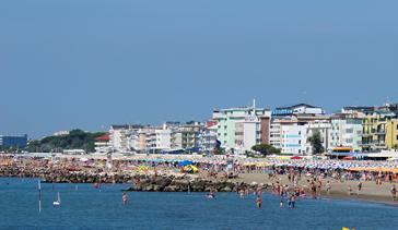 Appartamenti fronte mare sulla Spiaggia di Ponente