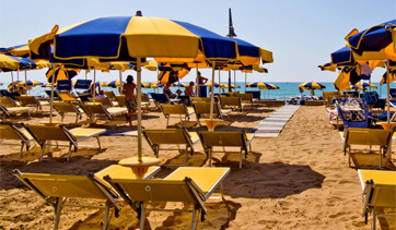 Strand in Porto Santa Margherita