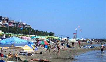 La spiaggia di Porto Santa Margherita